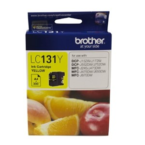 LC131Y Brother Yellow Ink Cartridge