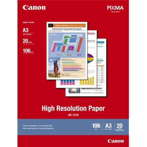 A3 Canon High Resolution Paper 20 shts 110gsm