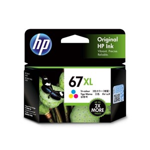 67XL HP High Capacity Tri-Colour Ink Cartridge