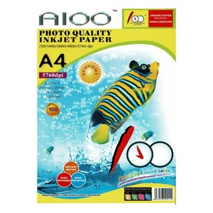 A4 Photo Quality Inkjet Matte Paper - 100 shts 108gsm