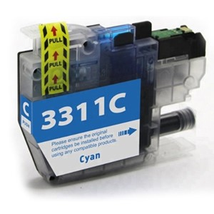 LC3311C Compatible Cyan Ink Cartridge for Brother