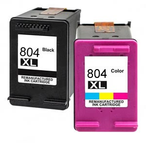 804XL Compatible Black + Colour Combo Pack for HP