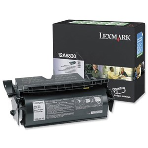 12A6830 Lexmark Black Cartridge