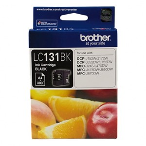 LC131BK Brother Black Ink Cartridge