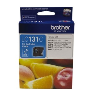 LC131C Brother Cyan Ink Cartridge