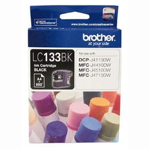 LC133BK Brother Black Ink Cartridge