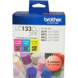 LC133CL3PK Brother Ink Colour 3 Pack