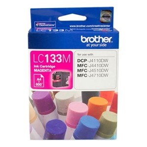 LC133M Brother Magenta Ink Cartridge