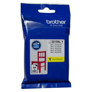 LC3319XLY Brother Hi Yield Yellow Ink Cartridge