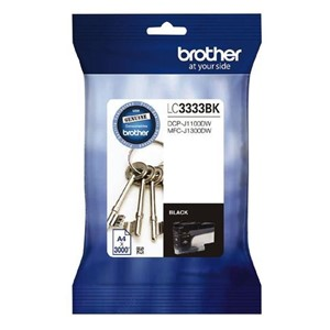 LC3333BK Brother Black Super High Yield Ink Cartridge
