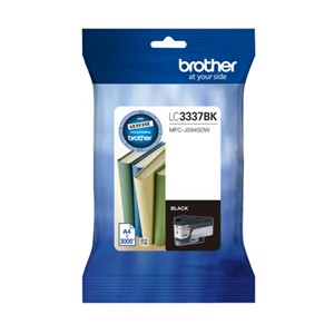 LC3337BK Brother Black High Yield Ink Cartridge