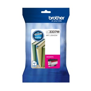 LC3337M Brother Magenta High Yield Ink Cartridge