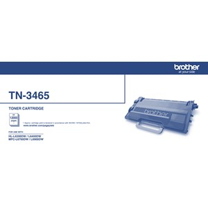 TN3465 Brother Super High Yield Toner - 12000 Pages