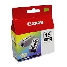 BCI-15BK Canon Twin Black Cartridges