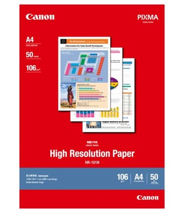 A4 Canon High Resolution Paper 50 shts