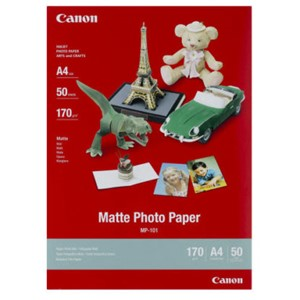 A4 Canon Matte Photo Paper 50 shts 170gsm