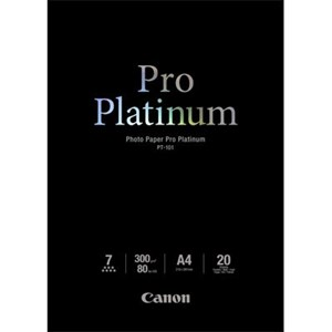 A4 Canon Photo Paper Pro Platinum 20 shts