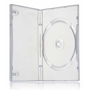 DVD Case Single Wide CLEAR - Single 14mm
