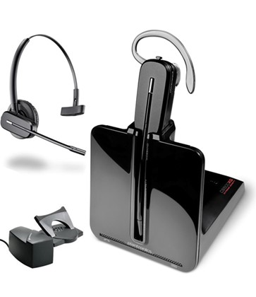 Plantronics CS540 Convertible Wireless Headset w/Handset Lifter HL10