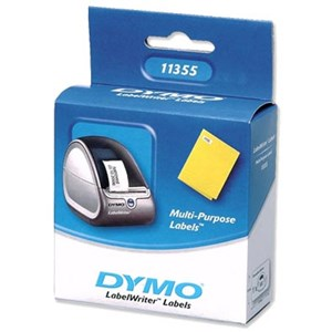 11355 Dymo Removable Multipurpose Label 19mm x 51mm Roll 500