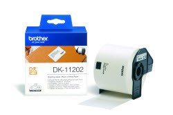 DK11202 Brother  White 62x100 Shipping Labels - 300 per roll