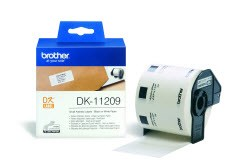 DK11209 Brother  29x62mm White Small Address Labels - 800 per roll