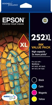Epson 252XL Value Ink Pack - OPENED