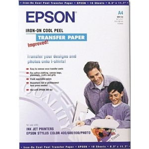 Epson A4 Iron-On transfer paper (Cool Peel) - 10 sheets