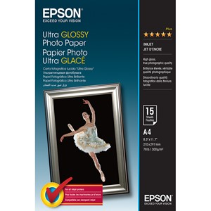 4x6 Epson Ultra Glossy Photo Paper - 50 sheets