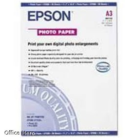 A3 Epson Photo Paper - 20 sheets