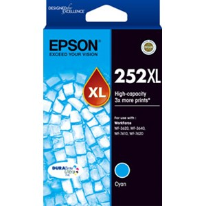 Epson 252XL High Capacity Cyan ink