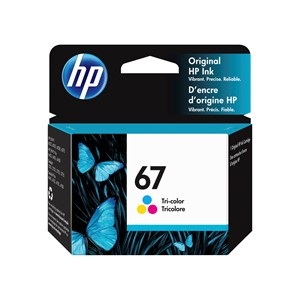 67 HP Tri-Colour Ink Cartridge