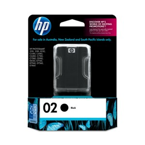 02 HP Black Vivera Ink Cartridge