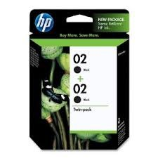 02 HP Black TWIN PACK