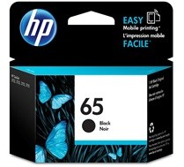 65 HP Black Ink Cartridge