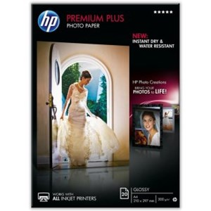 A4 HP Premium Plus Photo Paper - 20 sheets
