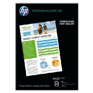 A4 HP Professional Matt Paper 120gsm / 200 sheets