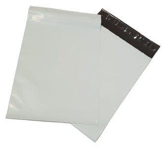 A5 Mailer Bag Grey - 190mm x 260mm - 100 pack