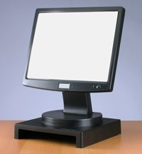 VuRyser Stackable Monitor Stand -  Black