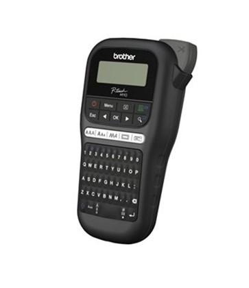 Brother P-Touch PTH110 Label Maker - Black