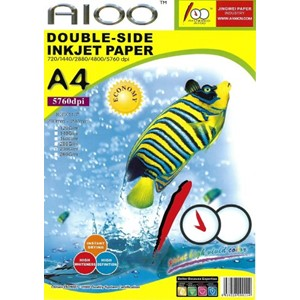 A4 Dual-side Matte Coated Inkjet Paper 50 Sheets 230gsm