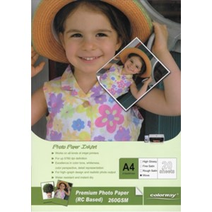 A4 Premium Wove Photo Paper 20 Sheets 260gsm