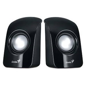 Genius SP-U115 Black USB Powered Mini Speakers