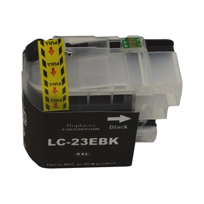LC23EBK Compatible Black Cartridge for Brother