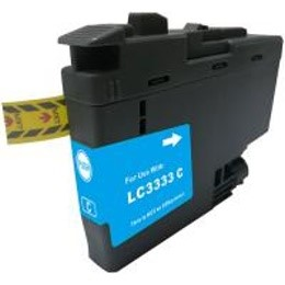 LC3333C Compatible High Yield Cyan Ink for Brother