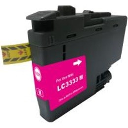 LC3333M Compatible High Yield Magenta Ink for Brother