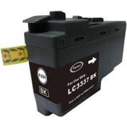 LC3337BK Compatible High Yield Black Ink for Brother