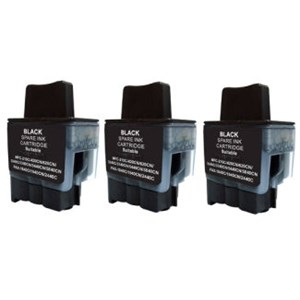 LC47BK Compatible Black Brother Triple Pack