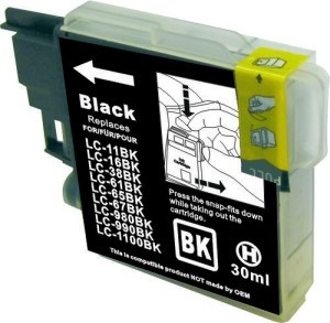 LC67BK / LC38BK Compatible Black Cartridge for Brother