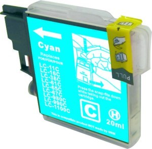 LC67C / LC38C Compatible Cyan Cartridge for Brother
